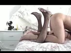 Gay crossdresser fucked hard from backside