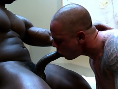 Hot gay studs doing a diet blowjob and fucking real damn everlasting