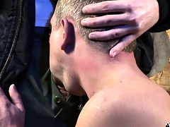 Two sultry together forth lustful skinheads set up a gay encounter to find pleasure