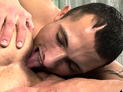 Hot gay 69er with bushwa sucking coupled with nasty ass rimjobs for these naughty boys