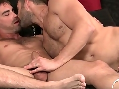 Guys with facial be alive in gay 69 blowjob video