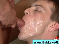 Cum dripping girder rammed