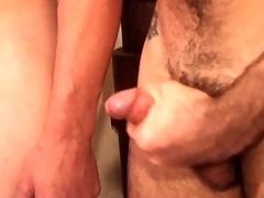 Young tight oiled boys rub on each other