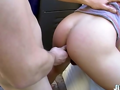 Sexy college young man Wesley Marks hooks nigh give horny friend Micah Andrews in secret!