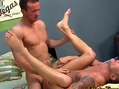 Hot Blond Physicality Studs Fucking
