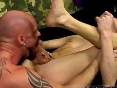 Ballet careless twinks first time Chris gets the jism poked out of him