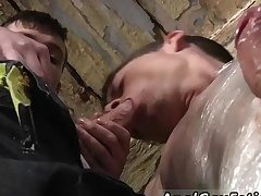 Dry gay porn movies Horny stud Sean McKenzie is already roped up, but