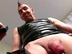 Mature Straight Chap Marc Masturbating
