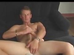 Aussie Boy Admire persist Door Cody Uses Dildo and Stokes His Big Cock
