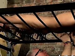 Hot gay chapter Blindfolded victim guy Reece has shameful himself