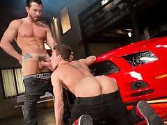 Jimmy Durano & Alexander Gustavo in Cruising For Ass, Scene 03 - RagingStallion