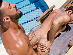 Gran Vista XXX Video: Abraham Al Malek & Dario Beck - FalconStudios