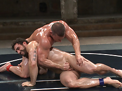3 Matches in 1! 6 smoking hot hunks fight for total licentious domination!