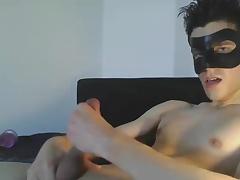German Boy enjoy comming
