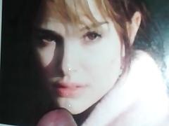 Natalie Portman Cum Tribute 10